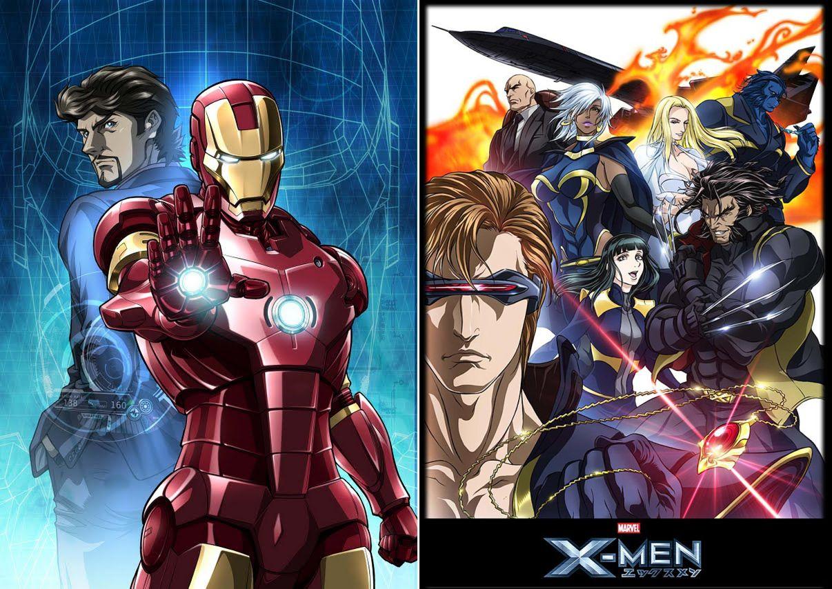 X-Men Anime (Marvel Tribute) [Avril Lavigne - Bad Girl feat ...