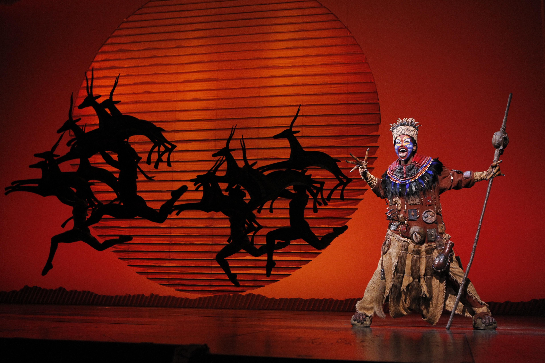 Lion King Rafiki Broadway Review Lion King Broadway Lion