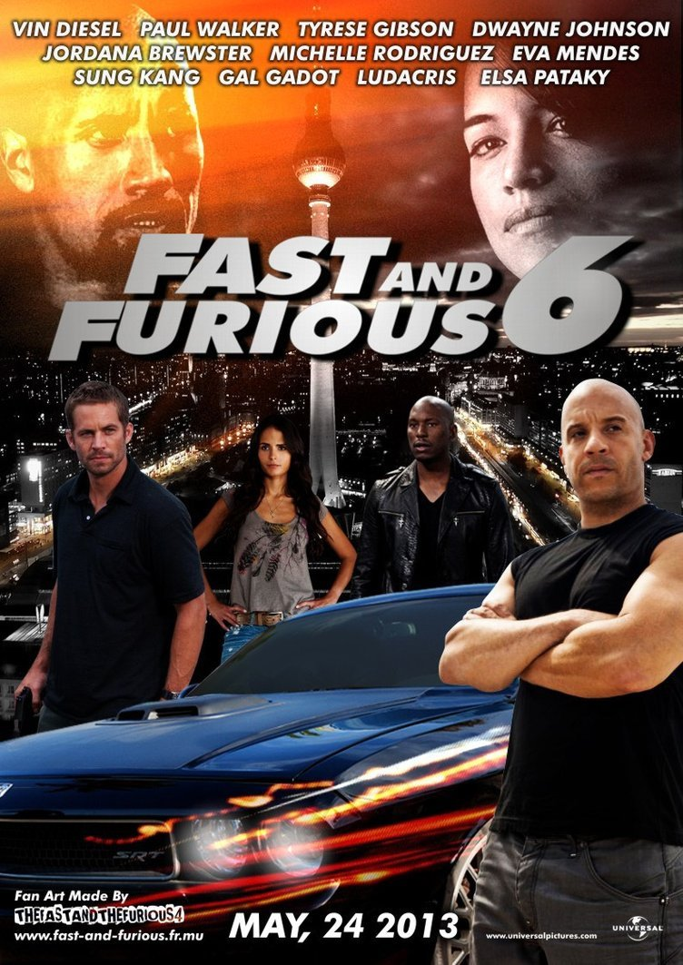 At the Movies: Fast & Furious 6 | The RROY REPORT