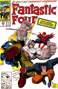 "The ""New"" Fantastic Four: Spider-Man, HULK, Ghost Rider and Wolverine"