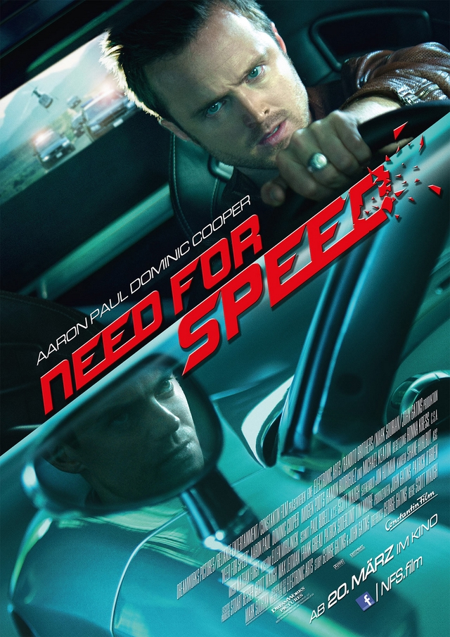 at the movies need for speed the rroy report. Black Bedroom Furniture Sets. Home Design Ideas