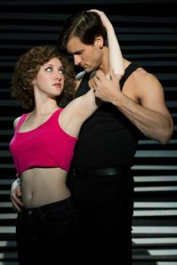 Jillian Mueller (Baby) and Samuel Pergande (Johnny) in the North American tour of DIRTY DANCING – THE CLASSIC STORY ON STAGE. (Photo by Matthew Murphy)