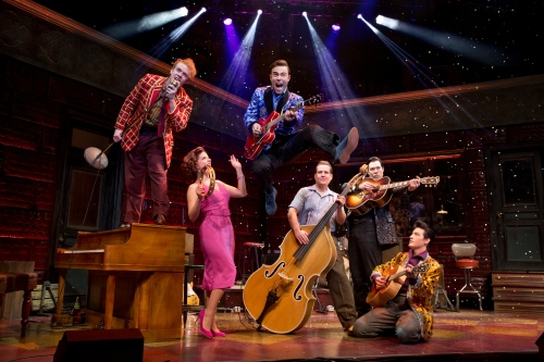 The National Tour of Million Dollar Quartet (Photo by Jeremy Daniel)