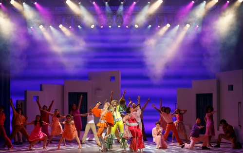 The MAMMA MIA! North American Tour Company, Photo by Joan Marcus