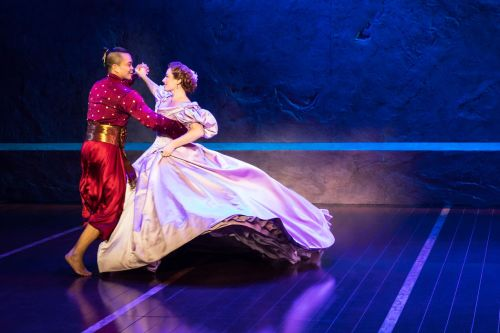 Jose Llana and Laura Michelle Kelly in Rodgers & Hammerstein's The King and I. Photo by Matthew Murphy_preview